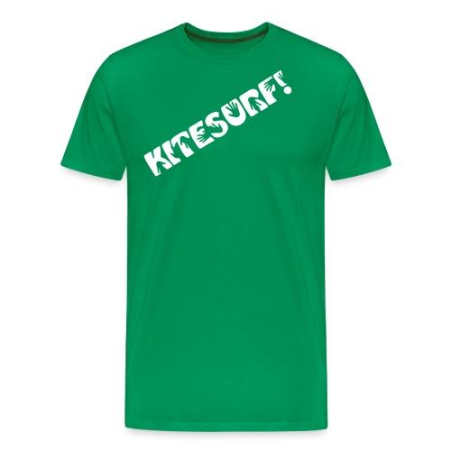 Kitesurf. Hands on! - Premium-T-shirt herr