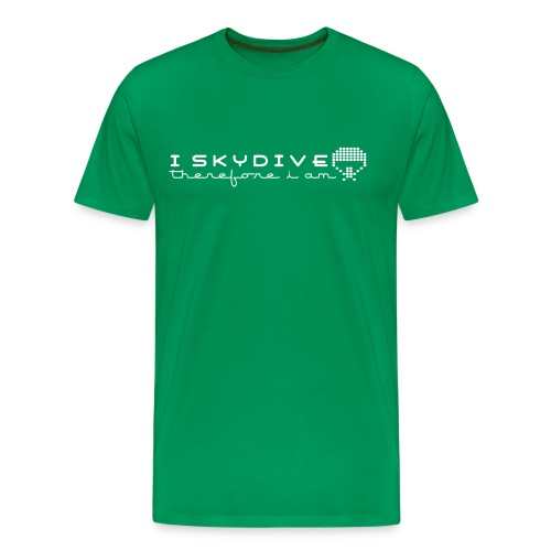 i_skydive_therefore_i_am - Men's Premium T-Shirt