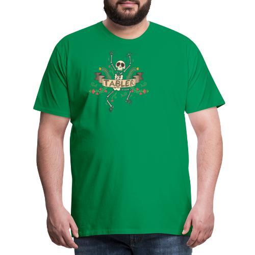 Skull Finish Tabler - Männer Premium T-Shirt