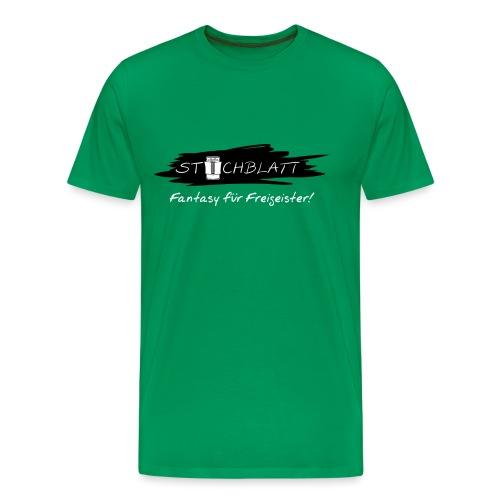 Stichblatt Fantasy für Freigeister! (weiß) - Männer Premium T-Shirt