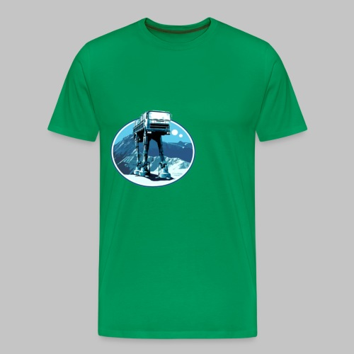 truck in movie - Premium-T-shirt herr