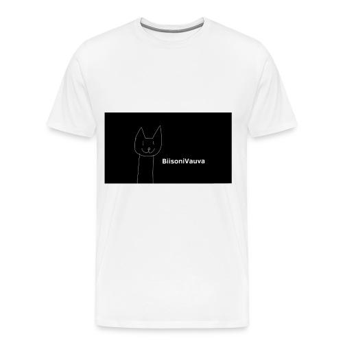 biisonivauva - Miesten premium t-paita
