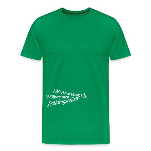 ade winterspeck - Männer Premium T-Shirt