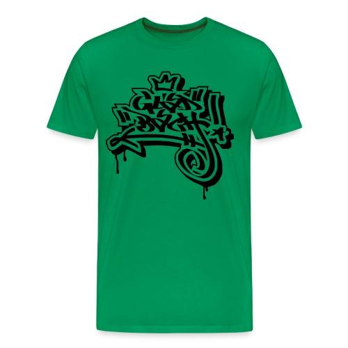 Graffiti Ultras Fan Shirt - Männer Premium T-Shirt