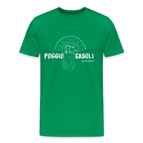Poggio Casoli_Istituzionale_Bianco - Maglietta Premium da uomo
