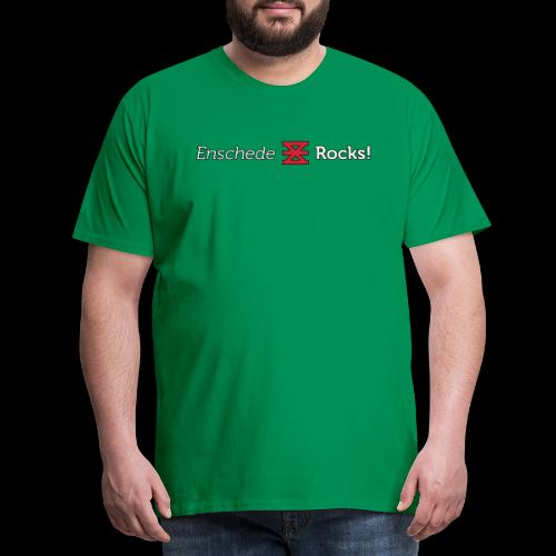 Enschede Rocks Logo - W - Mannen Premium T-shirt