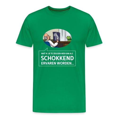 kermit at the doctor - Mannen Premium T-shirt