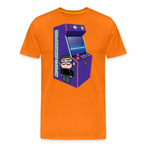 Game Booth Arcade Logo - Men's Premium T-Shirt