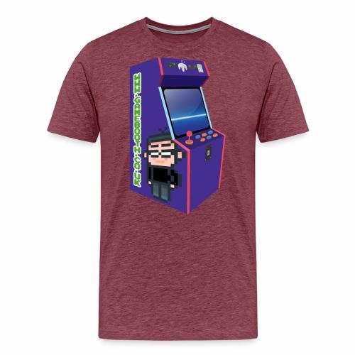 Game Booth Arcade Logo - Men's Premium T-Shirt