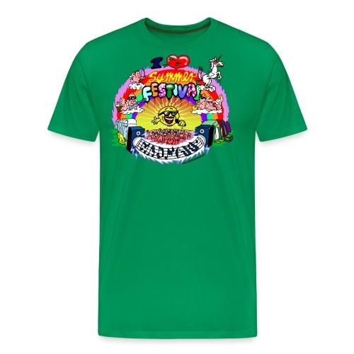 I LOVE summer festival madness - Männer Premium T-Shirt