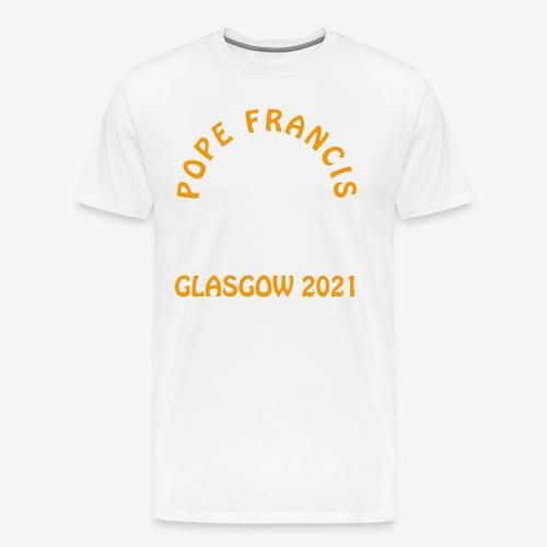POPE FRANCIS GLASGOW 2021 - Men's Premium T-Shirt