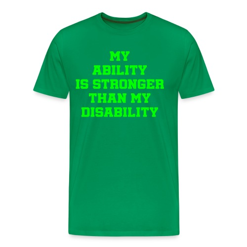 Ability3 - Men's Premium T-Shirt