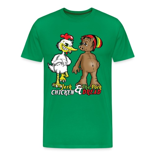 Jerk chickenPork Dread - Men's Premium T-Shirt