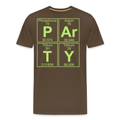 P-Ar-T-Y (party) - Men's Premium T-Shirt