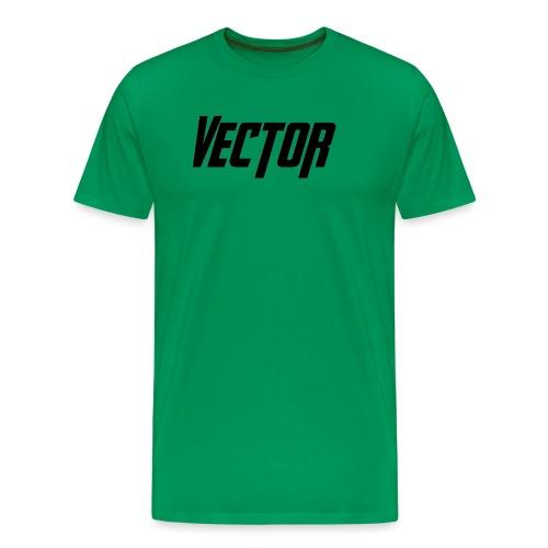 Vector Logo - Maglietta Premium da uomo
