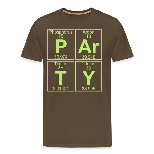 P-Ar-T-Y (party) - Men's Premium T-Shirt