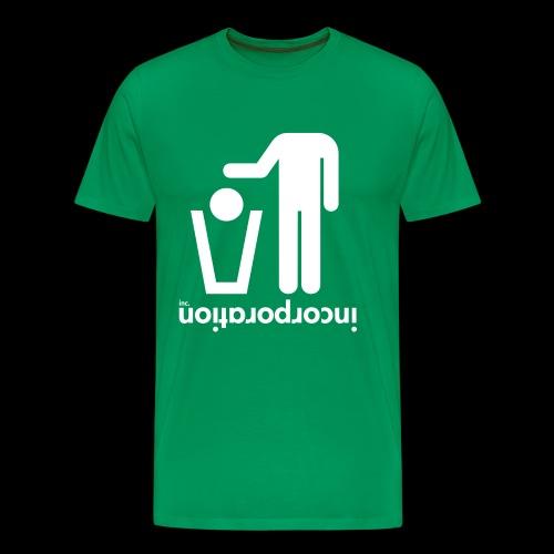 inctrashead02 png - T-shirt Premium Homme