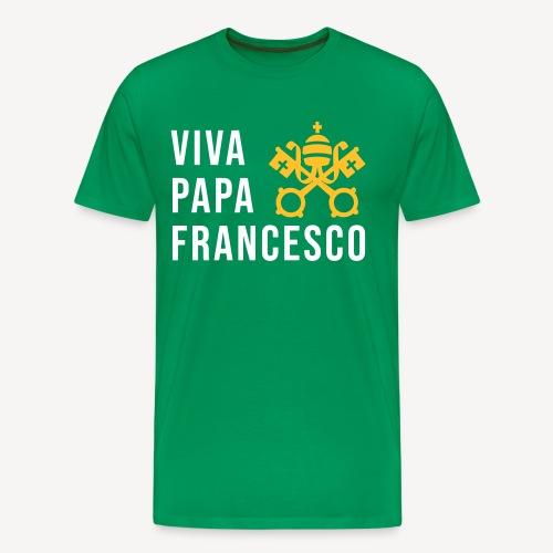 VIVA PAPA FRANCESCO - Männer Premium T-Shirt