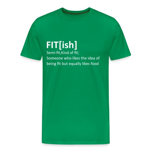 Fit ish - Premium-T-shirt herr