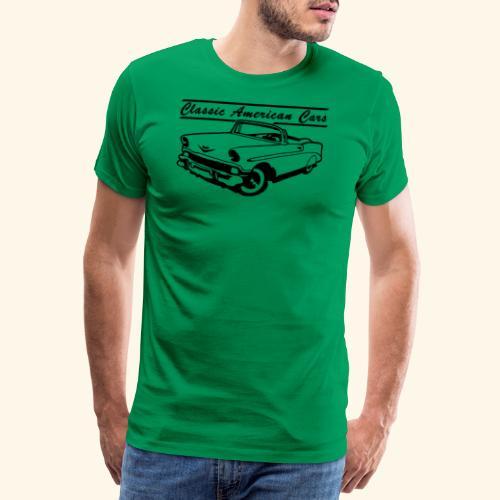 Classic American Cars 1 - T-shirt Premium Homme