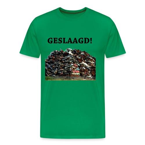 Geslaagd auto s - Mannen Premium T-shirt