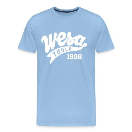 wesa retro - Miesten premium t-paita