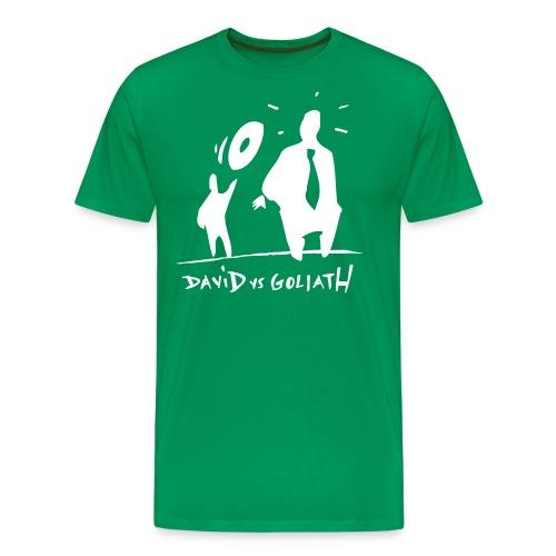 dvsglogo - Premium-T-shirt herr