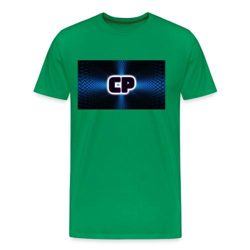 logo club pingvin - Premium T-skjorte for menn