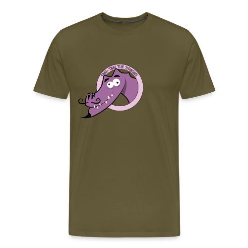 Tam-Tam The Dragon - Herre premium T-shirt