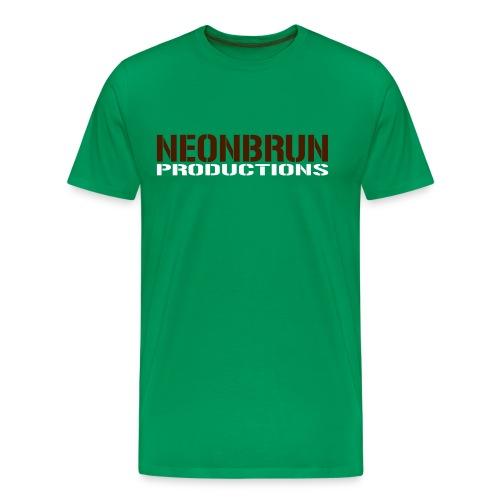 neonbrun - Premium-T-shirt herr
