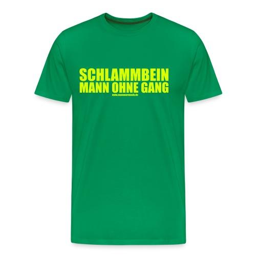 mog logo kurven - Männer Premium T-Shirt