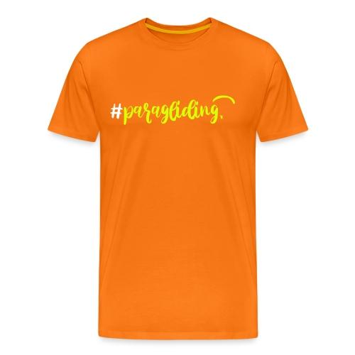 #paragliding - Männer Premium T-Shirt