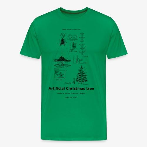 Artificial christmas tree - Männer Premium T-Shirt