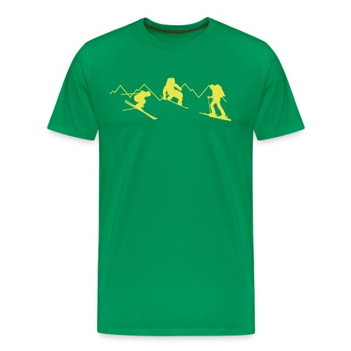 freeride eps - Männer Premium T-Shirt