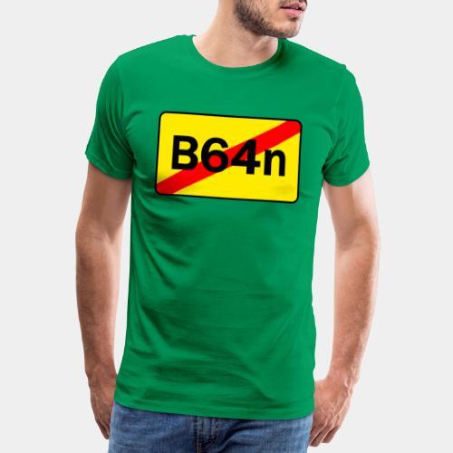 B64n beidseitig Bedruckt - Männer Premium T-Shirt