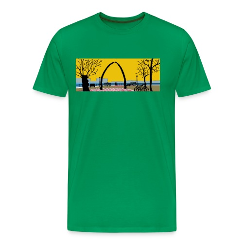 Vegesack Utkiek - Männer Premium T-Shirt