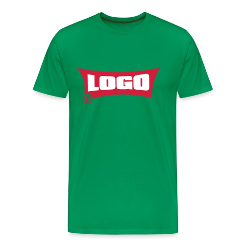 Logo Logo Red Block - Men's Premium T-Shirt