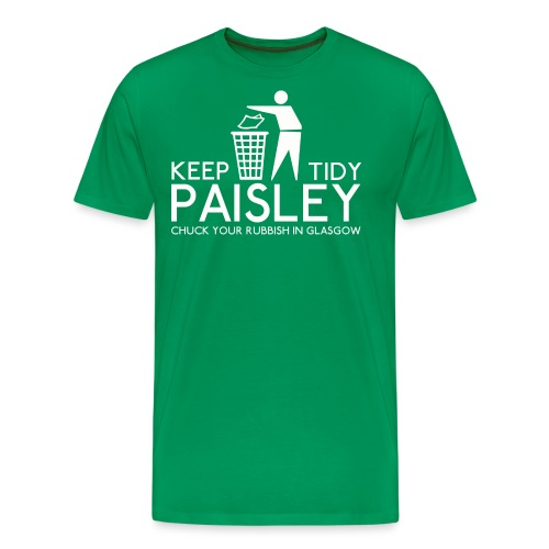 Keep Paisley Tidy - Men's Premium T-Shirt