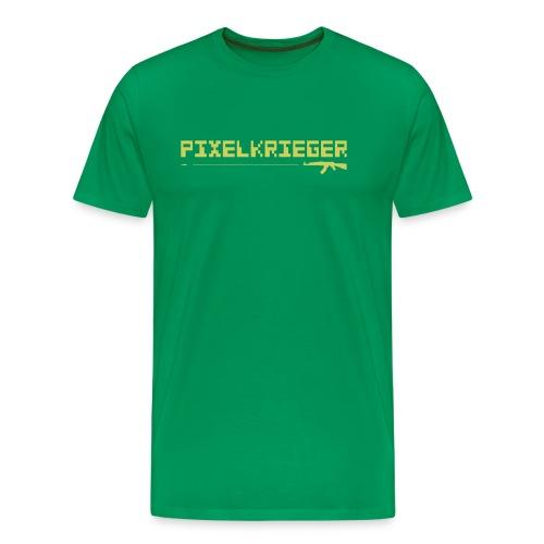 Pixelkrieger - Männer Premium T-Shirt