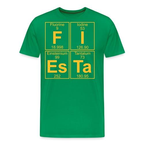 F-I-Es-Ta (fiesta) - Full - Men's Premium T-Shirt