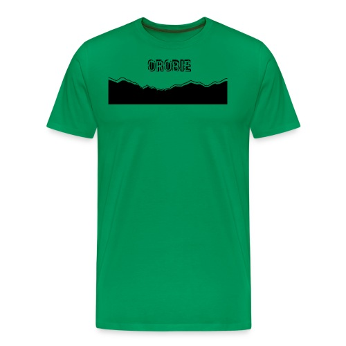 OROBIE SKYLINE - Maglietta Premium da uomo