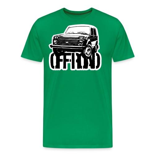 Lada Niva off-road - Autonaut.com - Men's Premium T-Shirt