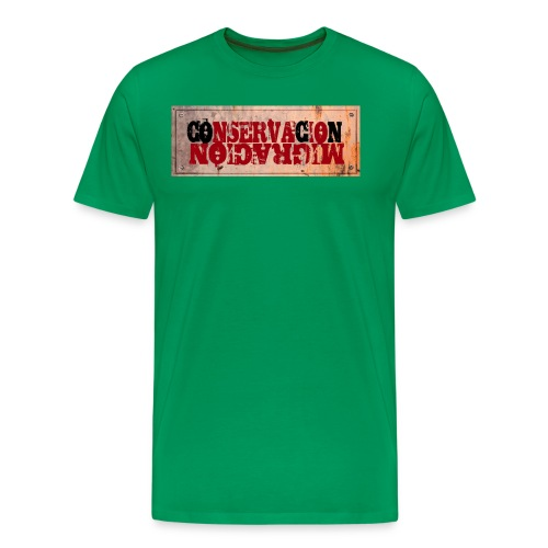 CONSERVACIÓN MIGRACIÓN - Camiseta premium hombre