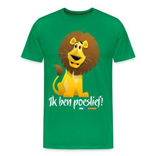 Ik ben poeslief - Mannen Premium T-shirt