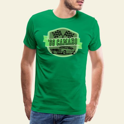 camaro logo - Herre premium T-shirt