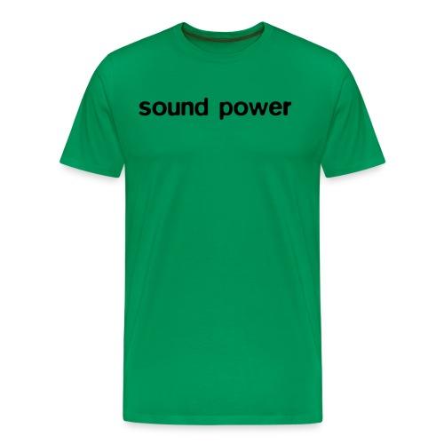soundpower130803 - Men's Premium T-Shirt