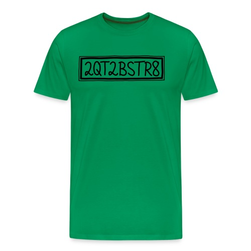 2QT2BSTR8 Rahmen svg - Männer Premium T-Shirt
