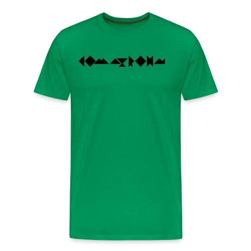 komatrohn_black - Men's Premium T-Shirt