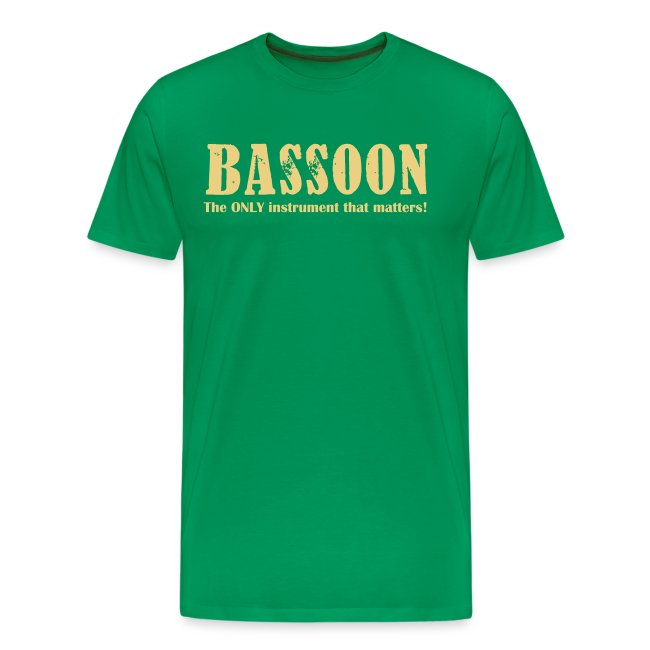 Bassoon, The Only instrum