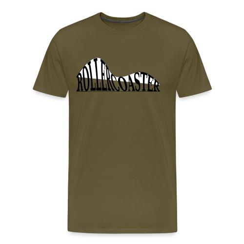 envelope_coaster - Herre premium T-shirt